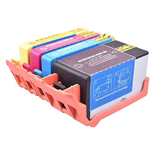 PerfectPrint Remanufacturado Tinta Cartucho Reemplazo para HP Officejet Pro 6950 All-in-One 6960 All-in-One 6970 All-in-One 6975 All-in-One 903XL (Negro/Cian/Magenta/Amarillo, 4-Pack)
