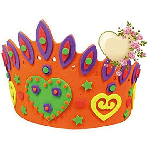 Handmade Hat Creative Sun Hat Birthday Hat Nursery Couronne EVA enfants