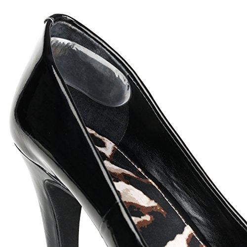 Sohlen Gel Fersenpolster (Paar), transparent, weich, bequem fügt Fuß Schmerzen & verhindern Rutschen oder Reiben–Reduzieren Hühneraugen und Blasen–passt für die meisten Schuh Styles und Marken