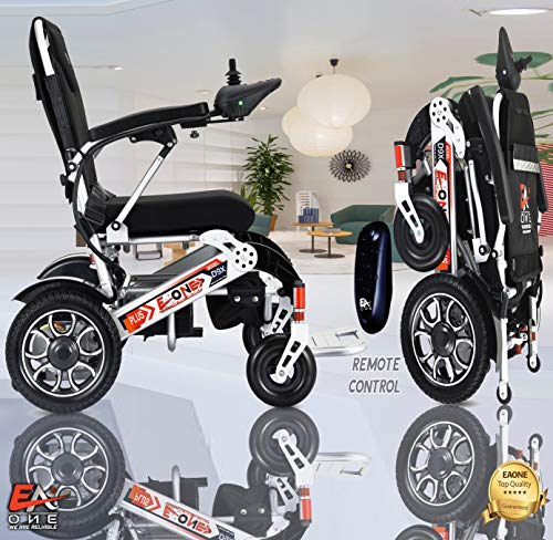 7 Colors(XL) EAONE No.1 D9X, Best Rated Exclusive Folding Lightweight Motorized Electric Wheelchair,...