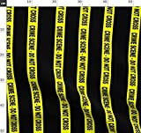 Polizei, Detektiv, Tatort Stoffe - Individuell Bedruckt von