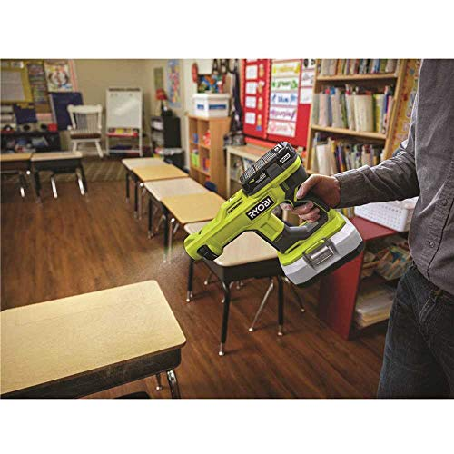 Ryobi ONE+ 18V Cordless Handheld Electrostatic Sprayer Kit with (2) 2.0 Ah Batteries and Charger