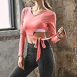 XIAMIMI Yoga Wear Sport Fitness Bekleidung Zweiteiler BH Mantel Hosen Langarm-Berufssport-Anzug,D,S