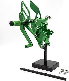 XMT-MOTOR Moto Plata Frente Reposapi/és Estriberas Clavijas para pies Pedales footrest para Ducati 848 1098 1198 2008 2009 2010 2011 2012 2013