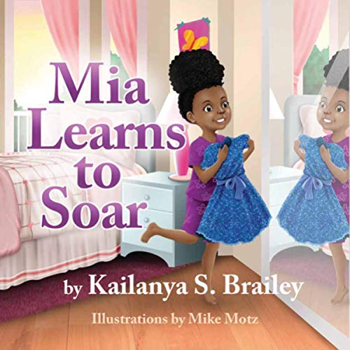 Mia Learns to Soar audiobook cover art