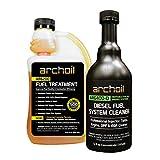 Archoil Fuel System Kit - AR6200 Fuel Treatment (16.9 oz) + AR6400-D Diesel Fuel System Cleaner