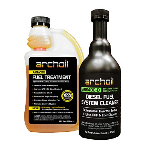 Archoil Fuel System Kit - AR6200 Fuel Treatment (16.9 oz) + AR6400-D Diesel Fuel System Cleaner