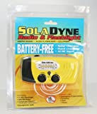 SolaDyne Solar Powered Wind Up Emergency Radio & Flashlight for Storms & Tornadoes