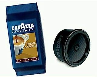 Lavazza Espresso Pt. Crema E Aroma, Espresso Capsules, Count of 100, Brown