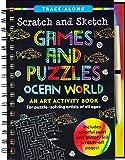 Scratch & Sketch Games & Puzzles: Ocean World