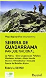 Sierra De Guadarrama Parque Nacional. 1:50000 (Mapa Topografico Excursionista)