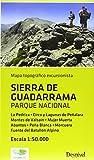Sierra De Guadarrama Parque Nacional. 1:50000 (Mapa...