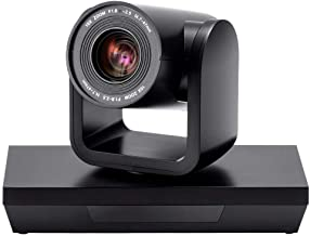 Workstream by Monoprice PTZ Conference Camera Pan and Tilt with Remote 1080p Webcam USB 2.0 10x Optical Zoom