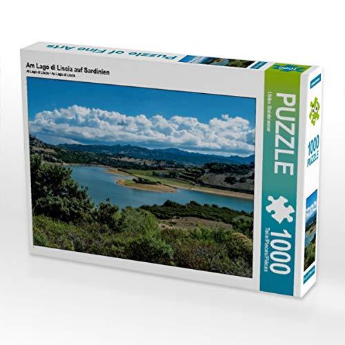 CALVENDO Puzzle Am Lago di Liscia auf Sardinien 1000 Teile Lege-Größe 64 x 48 cm Foto-Puzzle Bild von Ulrike Steinbrenner