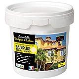Badigeon à la chaux décoration intérieure extérieur maison BADIPLUS - CADIX Crème - kit de 5 kg : jusqu'à 25 m² - ARCANE INDUSTRIES