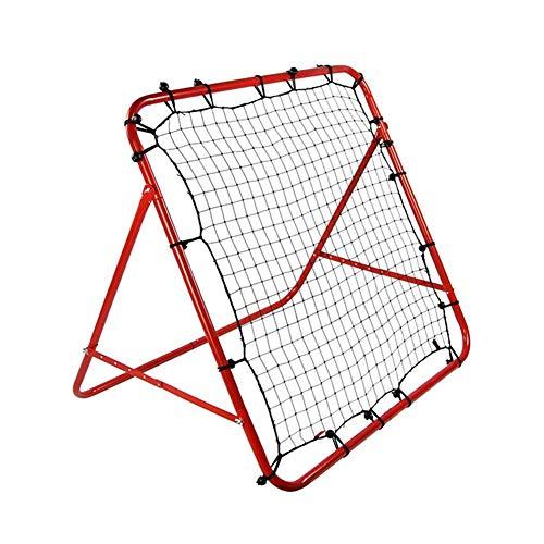 Lesmart Football Training Net Rebound Soccer Adjustable Angle Kickback Target Goal Practice Play Game in Playground Backyard