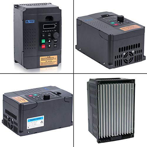 Variable Frequency Drive, MYSWEETY AC 220V/2.2KW 3HP 10A VFD Inverter Frequency Converter for Spindle Motor Speed Control (1 phase INPUT and 3 phase OUTPUT)