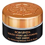 BIOAYURVEDA Youth Sport Anti-Fungal Foot Cream for Cracked Heels & Relieving Athletes Foot