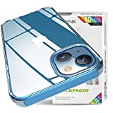 GPFILE iPhone 13 Cover, Funda con Anti arañazos, Funda de Silicona Transparente HD Anti amarillamiento para iPhone 13, Transparente