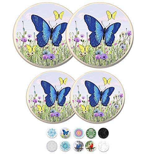 Electric Stove Burner Covers (Butterfly)