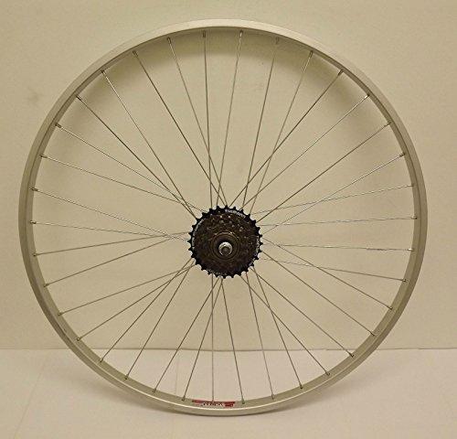 Baldwins 26 ' Alloy REAR Mountain Bike Wheel & 6 SPEED SHIMANO FREEWHEEL Bicycle MTB