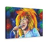Tina Turner Art Art Art Poster Cover (3) Leinwand Poster