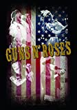 LPG International Guns N 'Roses Stoff Collage Poster