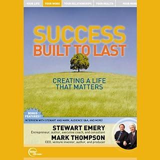 Success Built to Last audiobook cover art
