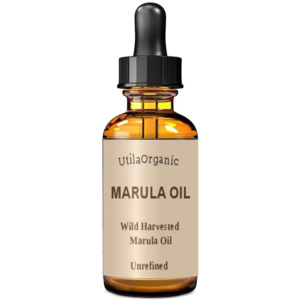 潜むしなやか散髪未精製 マルラオイル 60ml Marula Oil 100% pure and natural 【並行輸入品】