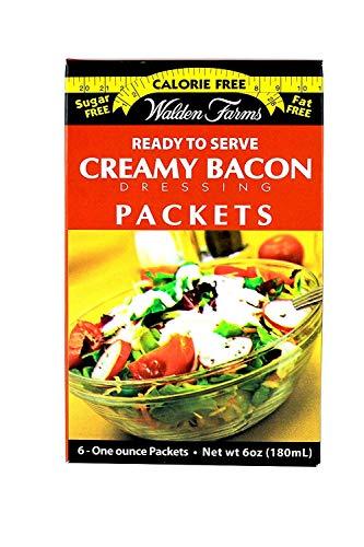Walden Farms Dressing, Creamy Bacon, 1 Ounce
