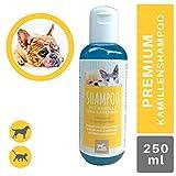 EMMA Champú para Perros y Gatos I Cuidado del Pelo con manzanilla I pH Neutro y Suave I para Pieles sensibles I Limpia Suavemente I 250ml