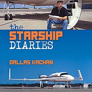 The Starship Diaries audiobook cover art