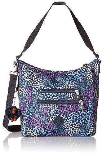Kipling Damen Printed Handbag, Dotted Bouquet Bellamie Bedruckte Handtasche, Gepunktet Blumenstrauß, Einheitsgröße