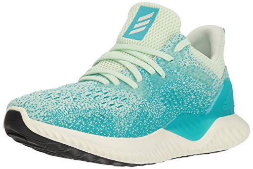 adidas Women's Alphabounce Beyond Running Shoe, aero green/white tint/hi-res aqua, 8 M US