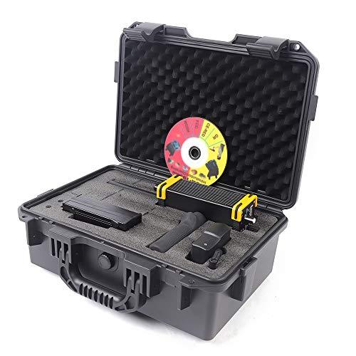 DNYSYSJ GR-100 Metal Detector, Mini GR-100 Long Range King Detector Series Underground Metal Detector for Gold Gem and Minerals with LED Screen, Black