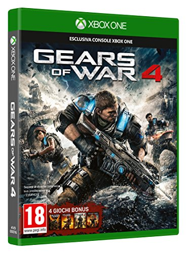 NUOVO MICROSOFT 4V9-00016 XBOX ONE GEARS OF WAR 4 STANDARD XBOX ONE GEARS OF WAR 4 STANDARD EDITION 11 OTTOBRE 2016