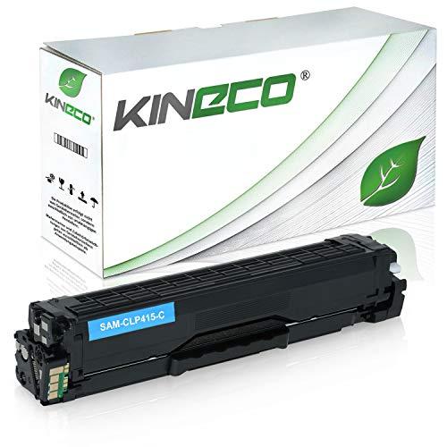 Toner kompatibel zu Samsung CLP-415 CLP415 für Samsung Xpress C1810W/SEE, Xpress C1860FW/XEC, CLP-415N/XEC, CLP-415NW/XEG - CLT-C504S/ELS - Cyan 1.800 Seiten