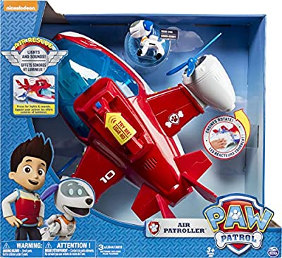 PAW PATROL 6026623 Robo Dog PAW VHC Air Patroller EML, Multicolour