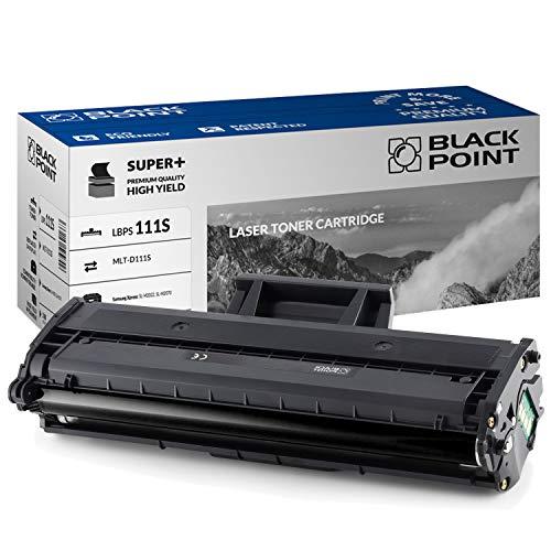 Black Point toner-mero - Tóner compatible con MLT-D111S (D111S) para Samsung: SL-M2022, SL-M2022W, SL-M2070, SL-M2070F, SL-M2070FW, SL-M2070W, Xpress: SL-M2026W, SL-M2026