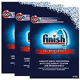Finish Sel Régénérant Lave-Vaisselle 4 kg - Lot de 3...