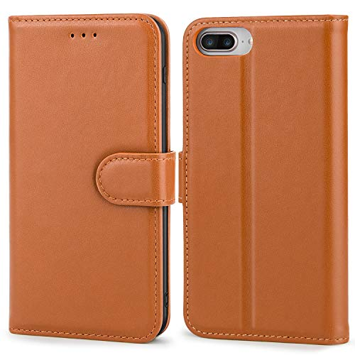 iPhone 8 Leather Wallet Case - SURDOCA iPhone 7 Leather...