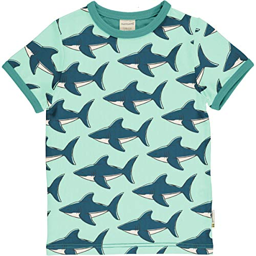 Maxomorra T-Shirt Kurzarm Shark 98/104