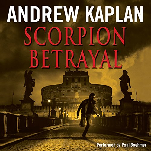 Scorpion Betrayal audiobook cover art