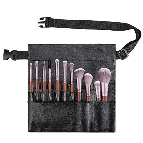 Color You - Estuche profesional para brochas de maquillaje, portátil, 22 bolsillos,...
