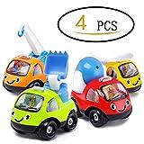 I bambini ZLFT versione Q del fumetto torna a veicoli di ingegneria, un set di quattro, per costruire un team di ingegneria di un bambino