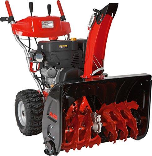 AL-KO Benzinschneefräse 700 E Snowline (7.8 kW, 375 ccm, 70 cm Räumbreite, Einzugshöhe 54,5 cm, integrierter Scheinwerfer, beheizbare Griffe, Seilzug/elektrisch 230 V, drehbarer Auswurfschacht, Radantrieb mit 6 Vorwärts- und 2 Rückwärtsgängen, Luftbereifung)
