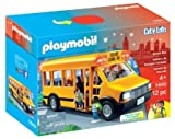 PLAYMOBIL (プレイモービル) School Bus Vehicle Playset スクールバス 5680 並行輸入品