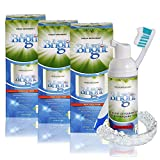 Retainer Foam Cleaner & Teeth Whitening Formula. The Ultimate Cleaning Toothpaste for Aligner Retainers. Great for All Kinds of Clear Retainers, Braces & Aligners. Safe for Dentures. (3 Pack)