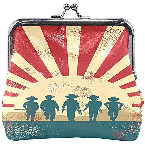 Bolso de Embrague del Monedero del Monedero de la Cartera de la Cartera de Las Mujeres de los niños de los Vaqueros