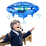 semai UFO Drohne, Kinder UFO Mini Drohne, Fliegender Ball Handsteuerung, UFO Flying Ball Fernbedienung mit 360°Rotierenden, LED-Leucht, Flugspielzeug Quadrocopter, UFO Drone,Geschenke für Kinder.